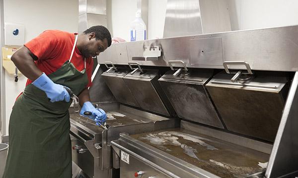 nettoyage des cuisines