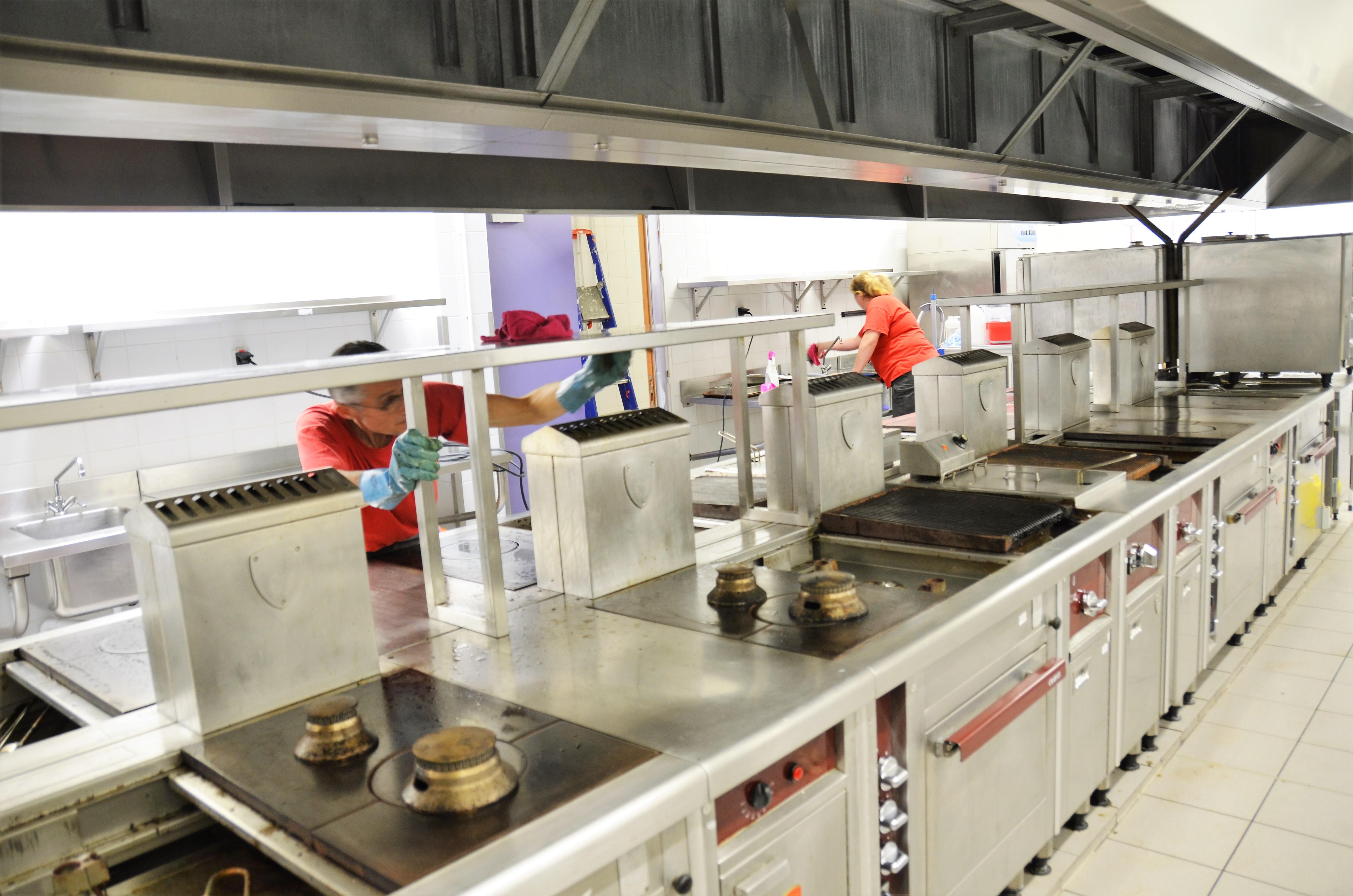 nettoyage cuisine profesionnelle