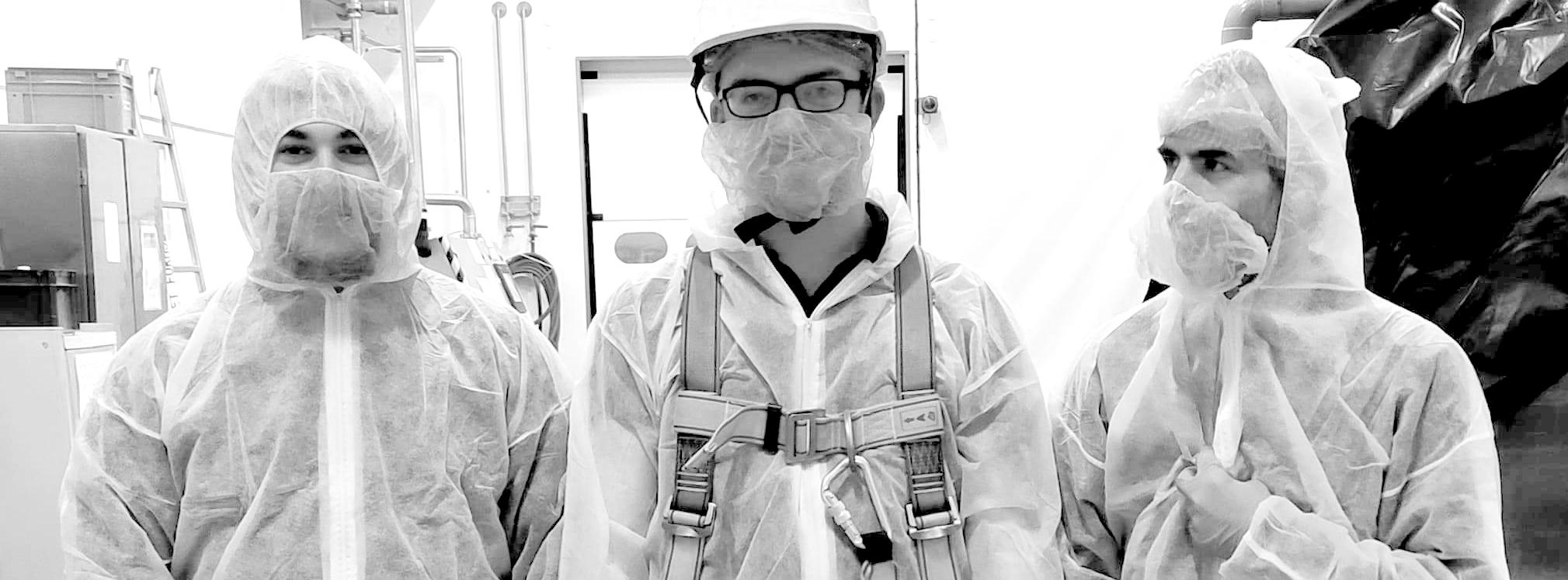 Nettoyage et désinfection coronavirus - locaux industriel