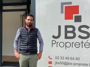 Benjamin Bahu Gérant JBS Propreté
