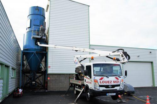 Nettoyage facade haute pression