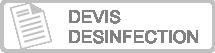 Demande devis désinfection coronavirus COVID-19